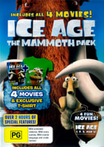 Ice Age Mammoth Pack (Ice Age/Ice Age 2/Ice Age 3/ Ice Age 4) (All 4 Movies)(BigW Exclusive) (4 Discs) - Ray Ramano