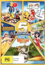 5 Great Movies (Rio / Robots / Anastasia / Fern Gully / Horton Hears a Who) - Annasophia Robb