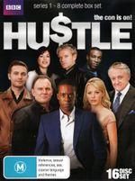 Hustle : Season 1 - 8  Complete Boxset (16 Discs) - Jaime Murray