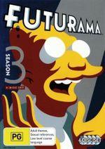 Futurama : Season 3 (4 Discs) - Hank Aaron