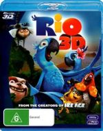 Rio (3D Blu-ray) - Jemaine Clement
