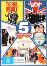 Best of British Comedy 5-Pack (The Full Monty / The History Boys / Four Weddings and a Funeral / A Fish Called Wanda / The Best Exotic Marigold Hotel) - Robert Carlyle