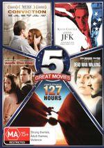 True Story 5-Pack (Conviction / JFK / Walk the Line / Dead Man Walking / 127 Hours) - Amber Tamblyn
