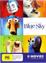 Blue Sky Collection (Horton Hears a Who/Epic/Ice Age/Ice Age 2 The Meltdown/Ice Age 3 Dawn of the Dinosaurs/Ice Age 4 Continental Drift/Rio/Robots) - Aziz Ansari
