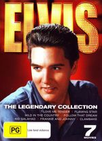 Elvis : The Legendary Collection (Love Me Tender / Flaming Star / Wild in the Country / Follow that Dream / Kid Galahad / Frankie and Johnny /Clambake) - Elvis Presely