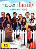 *Modern Family : Season 1 - 4 Boxset - Sofia Vergara
