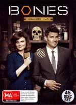 Bones : Season 1-8 Boxset (45 Disc) - Michaela Conlin
