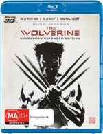 The Wolverine 3D Blu-ray/Blu-ray/UV : Unleashed Extended Edition  - Hugh Jackman