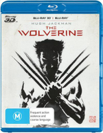 The Wolverine 3D Blu-ray/Blu-ray - Hugh Jackman
