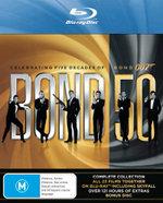 Bond 50 Boxset Including Skyfall (24 Discs) - Roger Moore