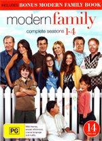 Modern Family : Season 1-4 Boxset (14 Discs)(Big W Exclusive) - Sofía Vergara