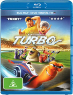 Turbo (2014) (Blu-ray/DVD/UV) - Ryan Reynolds