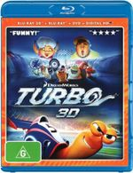 Turbo (2014)(Blu-ray 3D/Blu-ray/DVD/UV) - Ryan Reynolds