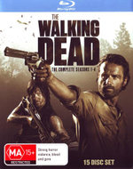 The Walking Dead : Season 1-4 - Andrew Lincoln