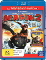 How To Train Your Dragon 2 (3D Blu-ray/Blu-ray/UV) - Jay Baruchel
