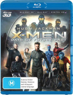 X-Men Days Of Future Past : 3D/BD/UV - Hugh Jackman