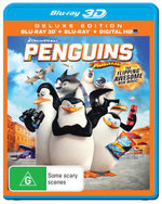 Penguins of Madagascar (3DBlu-ray/Blu-ray/UV) (Deluxe Edition) - Tom McGrath