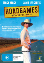 Road Games : On A 1600 Mile Of Stretch Of Desert Highway Someone Is Playing A Deadly Game Of Sex, Violence... And Sudden Death - Stacy Keach