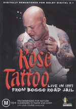 Rose Tattoo : Live In 1993 From Boggo Road Jail - Angry Anderson