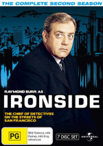 Ironside : Season 2 (Fatpack) - Raymond Burr