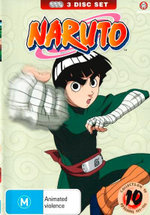 Naruto : Collection 10 - Episodes 121 - 135