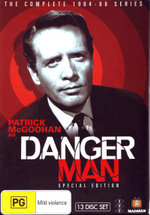 Danger Man : (Special Edition) The Complete 1964 - 1966 Series - Patrick McGoohan