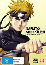 Naruto Shippuden : Collection 1 (Eps 1 to 13) - Junko Takeuchi
