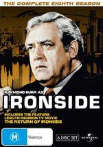 Ironside : Season 8 (Fatpack) - Raymond Burr