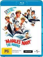 Mchale's Navy : The Movies - Double Feature - Claudine Longet