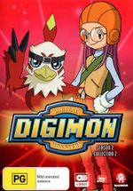 Digimon : Digital Monsters 02 (2000) Season 2 Collection 2 (Eps 26-50) (4 Discs) - Steve Blum