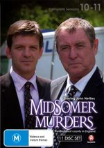 Midsomer Murders : Season 10-11 Box Set (plus Christmas Special) - John Nettles