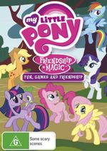My Little Pony : Friendship is Magic - Fun, Games and Friendship (Volume 4) - James Wootton