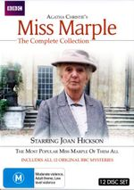 Agatha Christie's Miss Marple : The Complete Collection (12 Discs) - Joan Hickson
