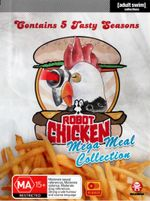 Robot Chicken : Mega Meal Collection: Season 1 - 5 (10 Discs) - Abraham Benrubi