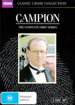 Campion : The Complete First Season (Limited Classics Crime Collection) (3 Discs) - Moray Watson