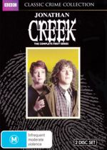 Jonathan Creek : Season 1 (Limited Classics Crime Collection) (2 Discs) - Alan Davies