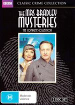 The Mrs Bradley Mysteries : Complete Collection (Limited Classics Crime Collection) (2 Discs) - Neil Dudgeon