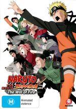 Naruto Shippuden : The Movie 3 - The Will of Fire - Satoshi Hino