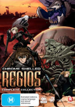 Chrome Shelled Regios (Complete Collection) (4 Discs) : Series Collection (2 Discs) - Terri Doty