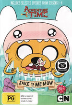 Adventure Time : Collection 3 - Jake vs Me-Mow
