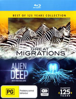 National Geographic : Best Of 125 Years: Great Migrations / Alien Deep Collection - Bob Ballard