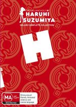 The Melancholy of Haruhi Suzumiya : Deluxe Complete Collection  (Limited Edition) - Yuko Goto
