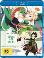 Sword Art Online : Volume 3 Fairy Dance Part 1 (Eps 15-19)