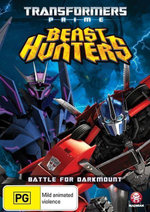 Transformers : Prime - Beast Hunters - (Season 3 - Episodes 1- 4) - Peter Cullen