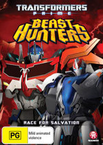 Transformers : Prime: Beast Hunters - Race for Salvation - (Season 3, Episodes 5 - 8) - Jeffrey Combs