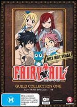 Fairy Tail Guild : Collection 1 (Eps 1-48)