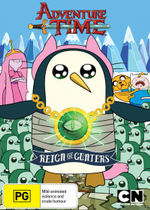 Adventure Time (Collection 7) : Reign of Gunters (With Lenticular 3D Cup) - Maria Bamford