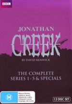 Jonathan Creek : The Complete Series (1 - 5 and Specials) - Alan Davies