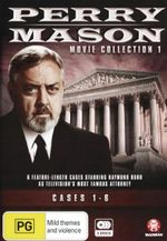 Perry Mason : Movie Collection 1: Cases 1-6 - Raymond Burr