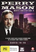 Perry Mason : Movie Collection 4: Cases 19-26 - William R. Moses